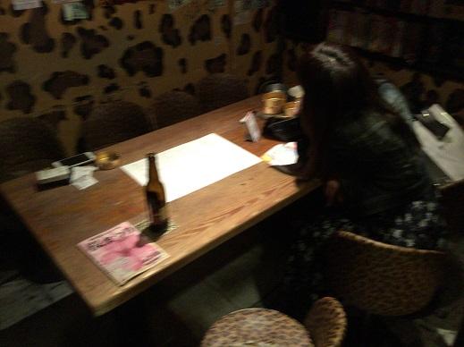 KENZO'S BARテーブル席