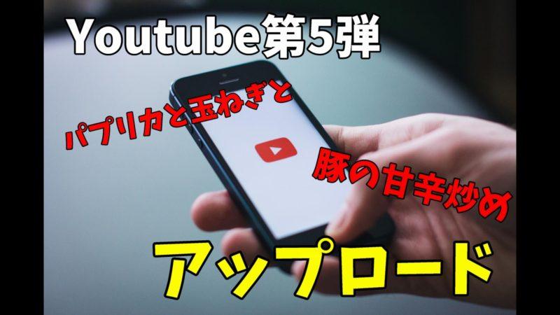 5個目のYoutube動画を作りました