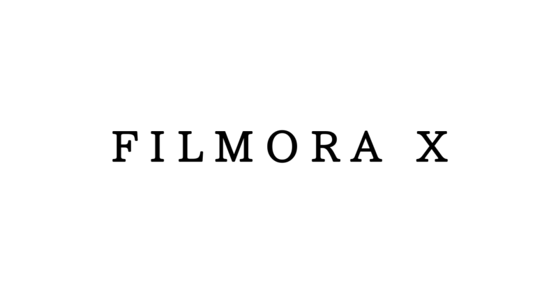 Filmora X
