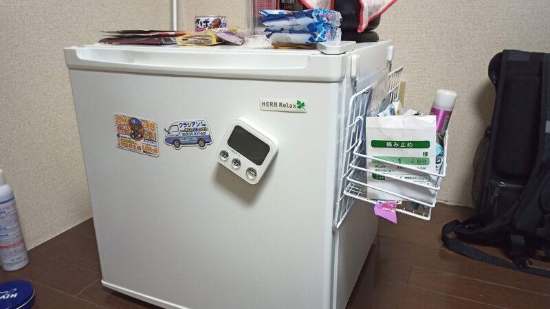 前の家に置いていた冷蔵庫