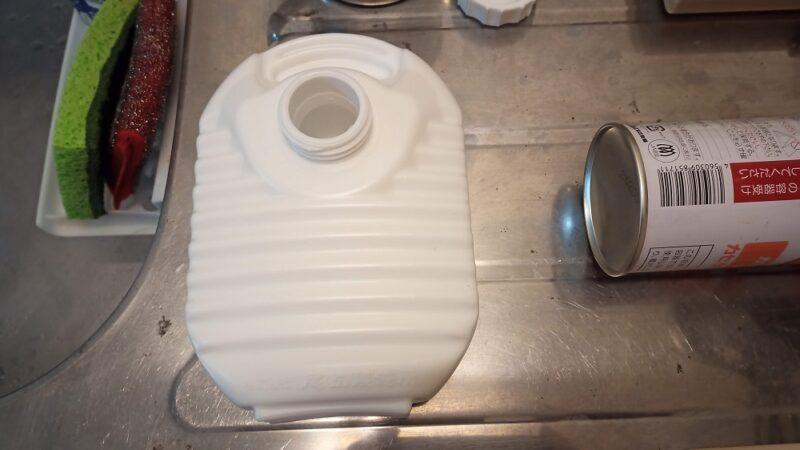 洗面所に湯たんぽ