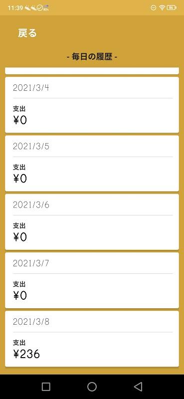 支出236円